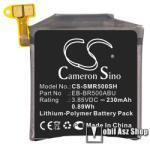 Cameron sino Akku 230 mAh LI-Polymer (belső akku, beépítése szakértelmet igényel, EB-BR500ABU / GH43-04922A kompatibilis) - SAMSUNG Galaxy Watch Active (SM-R500N) - CS-SMR500SH (CS-SMR500SH)