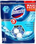 Unilever DOMESTOS ароматизатор за тоалетна чиния, Power 5, Maxi pack, Океан, 5 броя