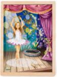 Pino Toys Дървен пъзел от 48 части Pino - Балерина (5810)