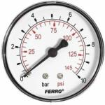 FERRO Manometru axial 10 BARI FERRO (M63A10)