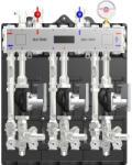 Ivar Modul de distributie MULTIMIX pentru centrale termice de zona, 3 zone temperatura ridicata, pompa WILO 4F, izolatie, MUL 3HE (506291PEI)