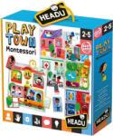 Headu Образователен пъзел Headu Montessori - В града (HMU23615) - ozone