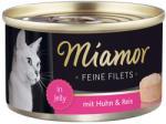 Miamor Feine Filets - Chicken & Rice Tin 100g
