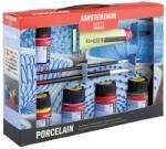 Royal Talens Set culori ceramica Amsterdam Porcelain Starter Set