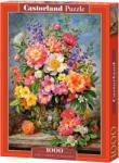Castorland Пъзел Castorland от 1000 части - Юнски цветя, Алберт Уилямс (C-103904)
