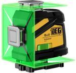 DEG 4D01-E16C - 16 vonalas, 4D (4x360°) zöld lézer szintező távirányítóval (deg-4d01e16c-m)