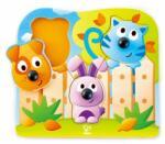 HaPe International Дървен пъзел за бебета - Животни (h1309) - baby
