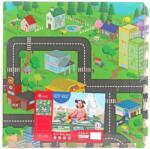 Sun Ta Toys Мек пъзел Sun Ta Toys - Градска карта, 4+8 части (3016)