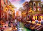 Black Sea Puzzles Пъзел Black Sea Puzzles от 1000 части - Вечерна разходка с гондола, Доминик Дейвисън (BS72103)