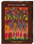 Heye Пъзел Heye от 1000 части - Жирафи, Тинга Тинга