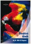 Pd önátírótömb A5 50x2 lapos vegykezelt papagáj mintás