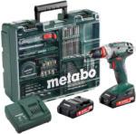 Metabo BS 18 Quick Set (602217880) Masina de gaurit si insurubat