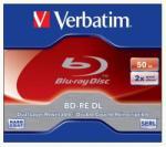 Verbatim Blu-Ray BD-RE 50GB 2x - Dual Layer BRVU-2DL