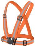TYPEC Vesta reflectorizanta de siguranta reglabila unisex portocaliu Trotineta