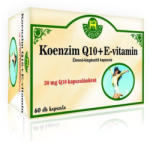 Herbária Koenzim Q10 + E-vitamin Kapszula (60db)