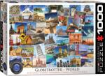 EUROGRAPHICS Пъзел Eurographics от 1000 части - Световен пътешественик (EG60000751)