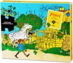Pippi Дървен пъзел Pippi - Пипи Дългото чорапче, 20 части (44378400)