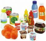Otto - Set de alimente , 20 piese, Cu conserve din Plastic (OS474-2644) Bucatarie copii