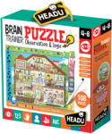 Headu Образователен пъзел Headu - Тренировка на ума, 108 части (HIT21154)