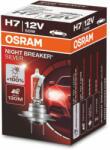 OSRAM Night Breaker Silver +100% H7 halogén izzó 64210NBS