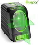 Huepar BOX-1G - zöld keresztvonalas lézer szintező kültéri móddal (OSRAM lézer) (hue-box1g)