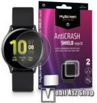 MYSCREEN Protector AntiCrash Shield Edge3D okosóra képernyővédő fólia - Ultra Clear, ÖNREGENERÁLÓ! - 2db, a teljes képernyőt védi - SAMSUNG Galaxy Watch Active2 40mm