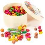 Viga Toys Gyöngyfűző készlet kerek dobozos (FK0736)