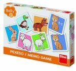 Dino Joc de memorie pentru copii Ferma vesela, 24 de carduri (621961)