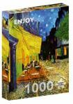 ENJOY Puzzle Puzzle Vincent Van Gogh: Café terrace at night, 1000 piese (Enjoy-1101) Puzzle
