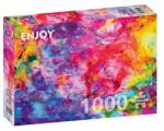 ENJOY Puzzle Puzzle Colourful abstract oil painting, 1000 piese (Enjoy-1092) Puzzle