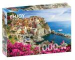 ENJOY Puzzle Puzzle Italy: Manarola, Cinque Terre, 1000 piese (Enjoy-1080) Puzzle