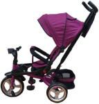 L Sun Tricicleta copii, 8-48luni, pozitie de somn, muzica si lumini, frane roti, mov, GZ18 (tr5099_mov)