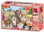 Philos Germany Puzzle 3D Cat Selfie 100 piese (9032) Puzzle